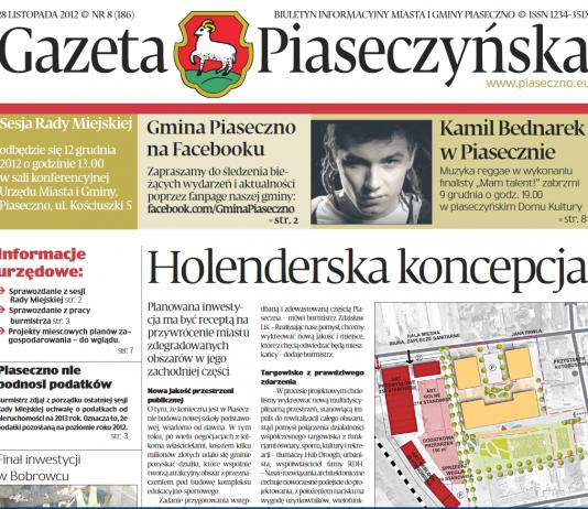 Gazeta Piaseczyńska 8/2012