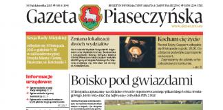 Gazeta Piaseczyńska 8/2013