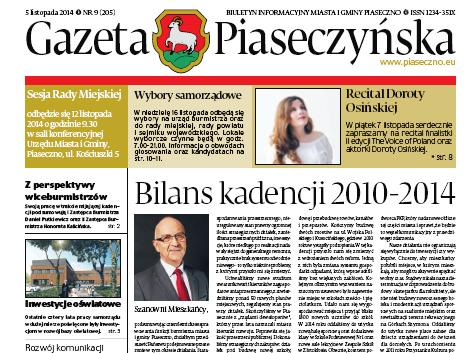 Gazeta Piaseczyńska 9/2014