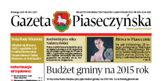 Gazeta Piaseczyńska 1/2015