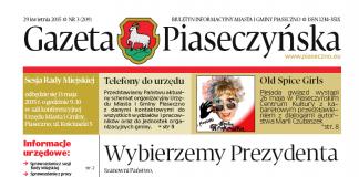 Gazeta Piaseczyńska 3/2015