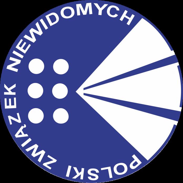 Logo Polskiego Związku Niewidomych