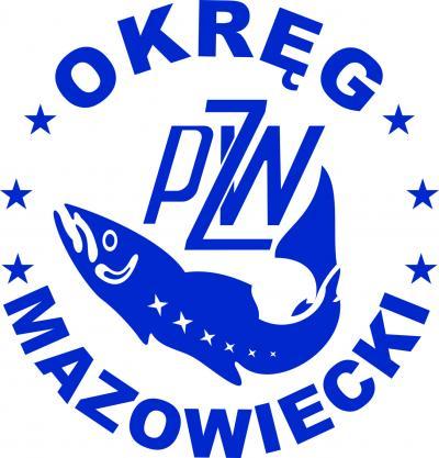 Logo Polskiego Związku Wędkarskiego Okręgu Mazowieckiego