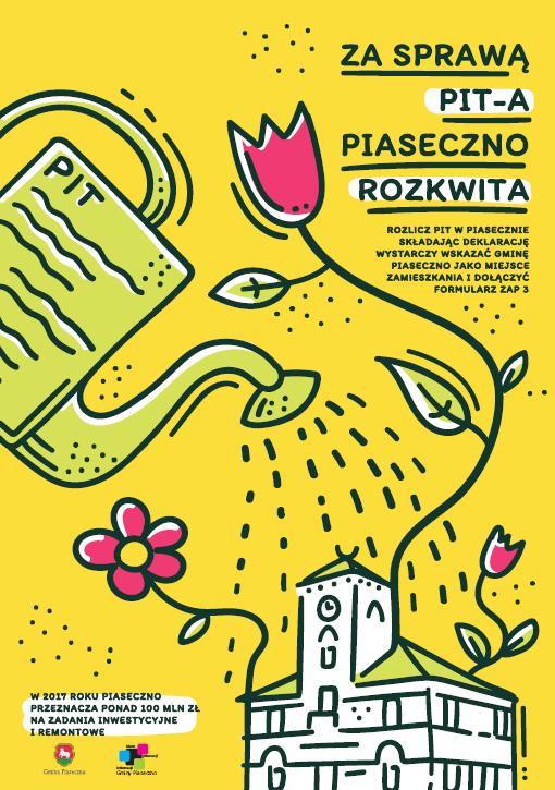 Za sprawą PIT-a Piaseczno rozkwita