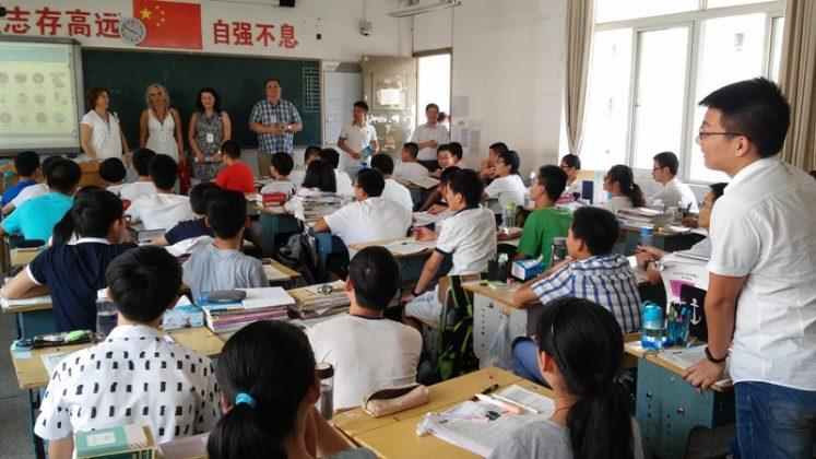 Wizyta w Huanggang