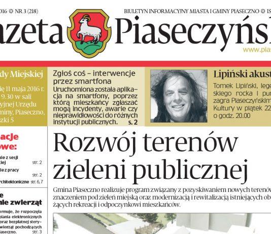 Gazeta piaseczyńska 3/2016