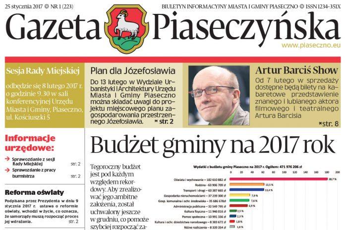Gazeta Piaseczyńska 1/2017