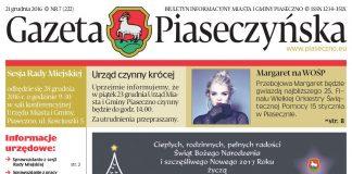 Gazeta Piaseczyńska 7/2016