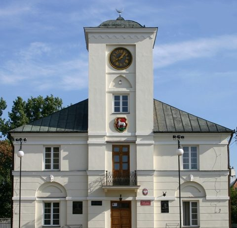 a historic town-hall of the mid-19th century