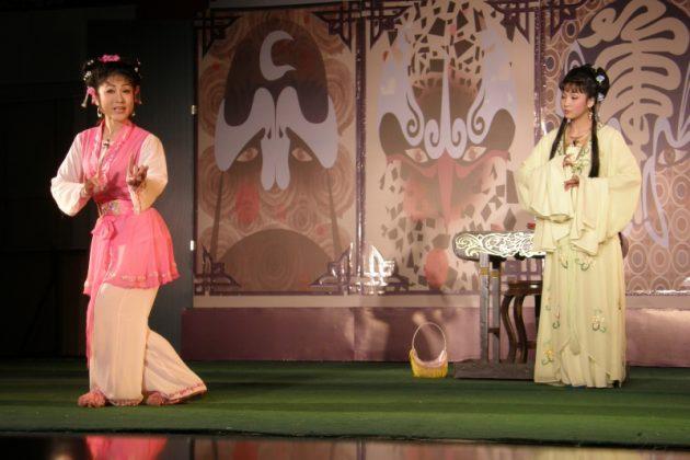 Słynny teatr chiński w Huangmei