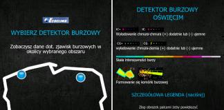 Aplikacja StormTEC - zrzut ekranu