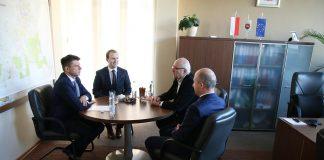 Spotkanie Burmistrza z liderem partii Nowoczesna