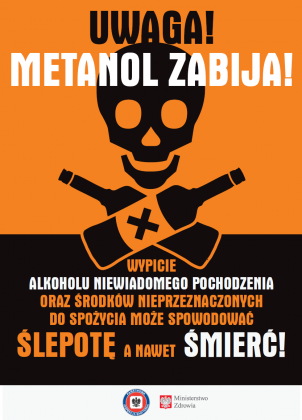 metanol - ulotka strona 1