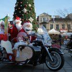Mikołajowie jeżdżą też na motorach