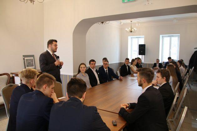 Młodzieżowa Rada Gminy w Łomży foto Łukasz Wyleziński