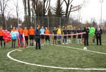 Otwarcie nowego boiska przy LO im. I Dywizji Kościuszkowskiej w Piasecznie