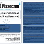 Ulotka PWiK Piaseczno - Przyłącz nieruchomość do sieci kanalizacyjnej