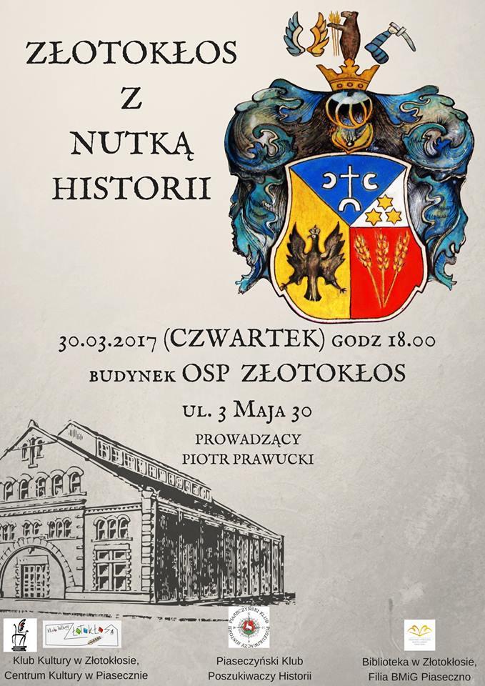 Spotkanie historyczne w Złotokłosie