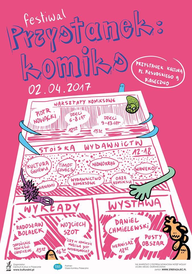 Festiwal Przystanek:Komiks