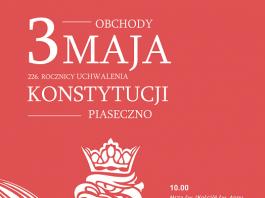 Plakat obchodów 3 Maja