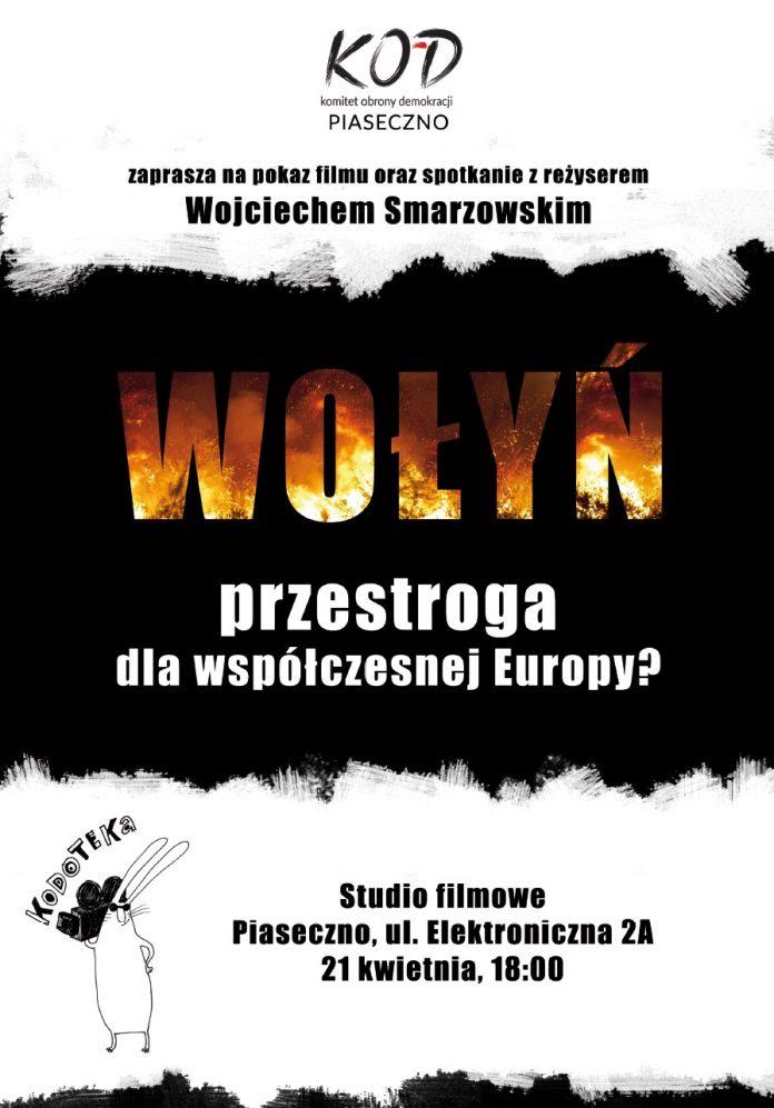 Wołyń - plakat