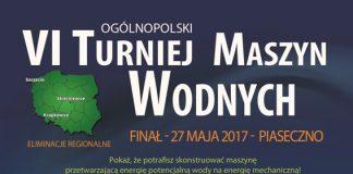 Plakat VI Ogólnopolskiego Turnieju Maszyn Wodnych
