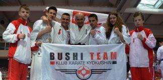 Zwycięstwa Bushi Team na Mistrzostwach