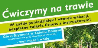 """Akcja """"Ćwiczymy na trawie"""" w Piasecznie"""