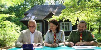 Podpisanie Listu intencyjnego w sprawie Domu Zośki