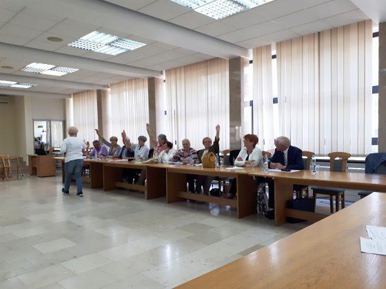Rada Seniorów - wybór prezydium