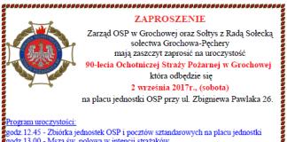 90 - lecie OSP Grochowa