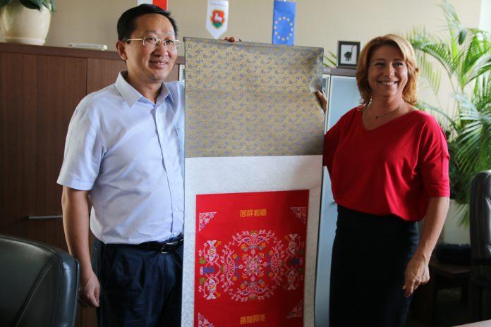 Delegacja z Chin