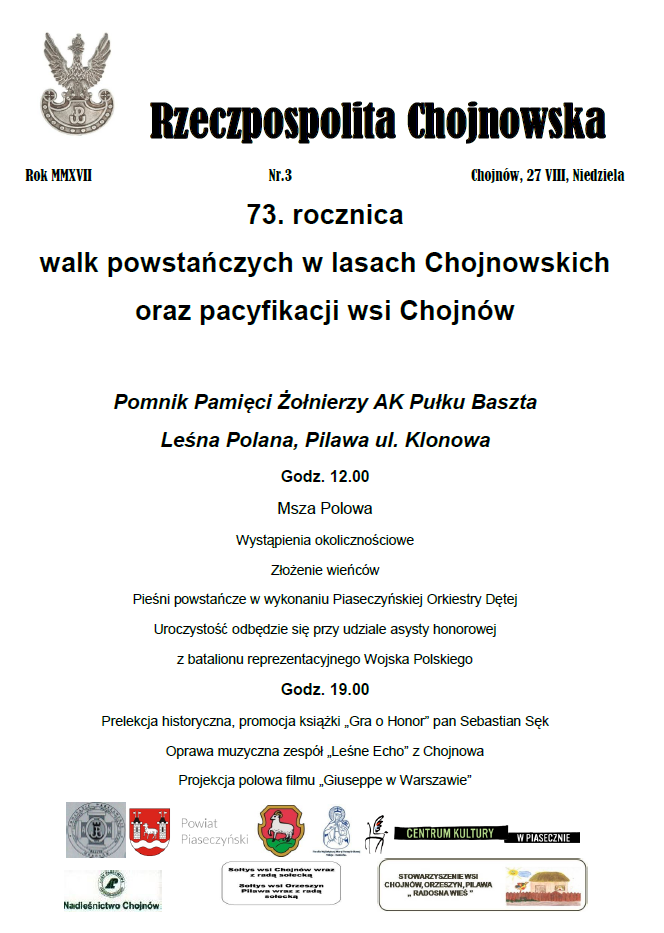 RP Chojnowska - plakat