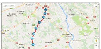 S7 mapa - źródło: http://www.drogi.waw.pl