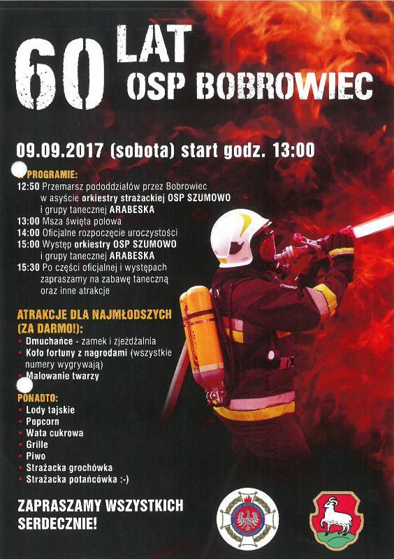 60 lat OSP Bobrowiec