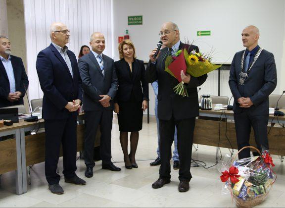 Andrzej Szczygielski na sesji