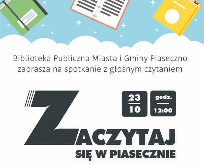 zaczytaj się w Piasecznie - plakat