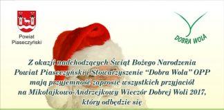X Wieczór Andrzejkowo-Mikołajkowy Dobrej Woli