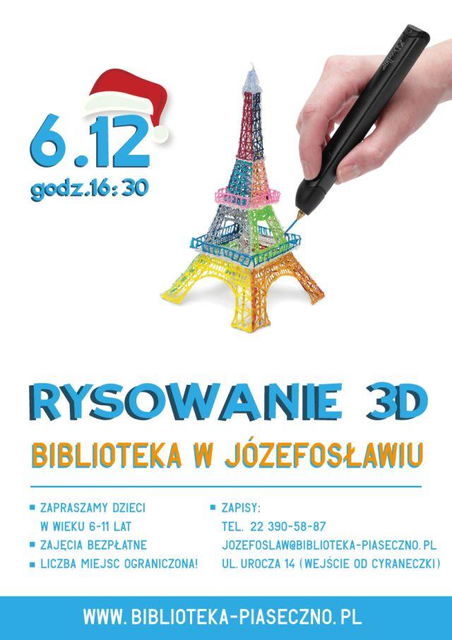 rysunek3D plakat