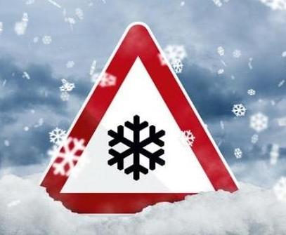 śnieg i mróz ostrzeżenie