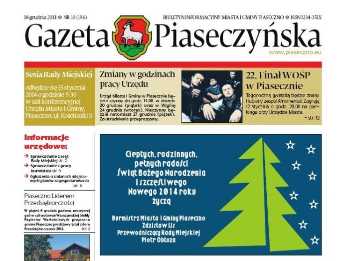 Gazeta Piaseczyńska 10/2013