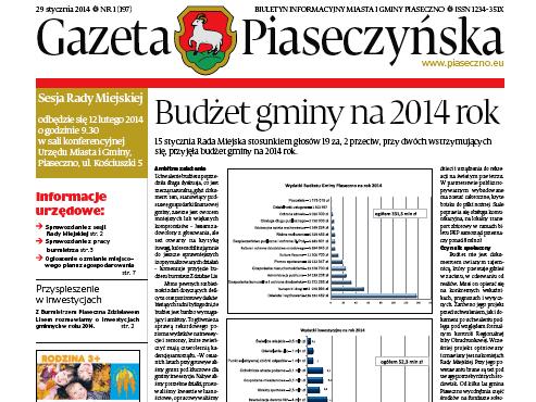 Gazeta Piaseczyńska 1/2014