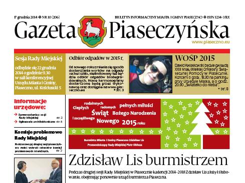 Gazeta Piaseczyńska 10/2014