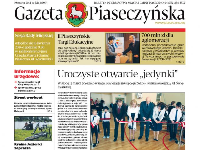 Gazeta Piaseczyńska 2/2014