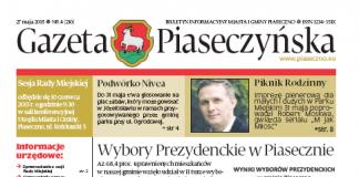 Gazeta Piaseczyńska 4/2015