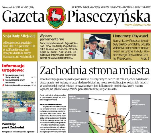Gazeta Piaseczyńska 7/2015