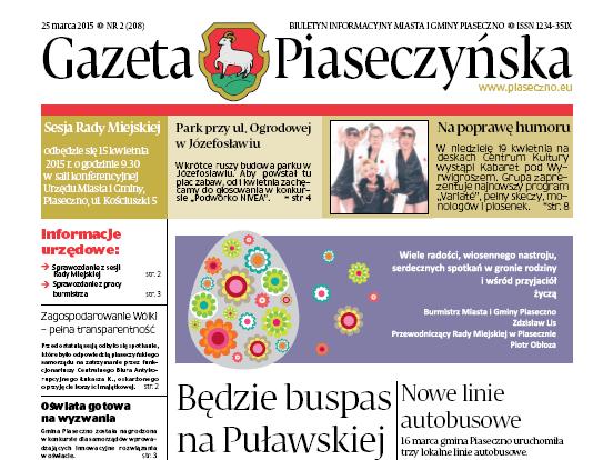 Gazeta Piaseczyńska 2/2015