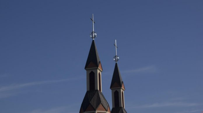 kościół w Józefosławiu foto: www.facebook.com/ParafiaJozefoslaw