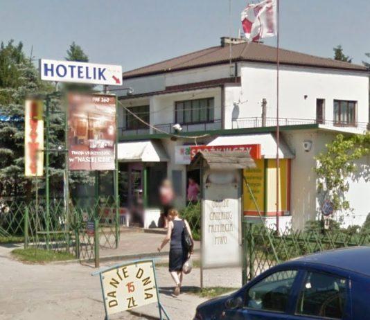 """Hotelik """" Na Zakręcie"""""""