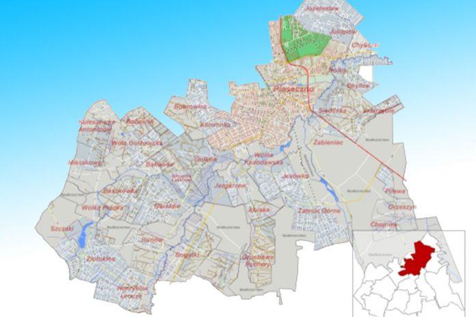 Sołectwa w Gminie Piaseczno